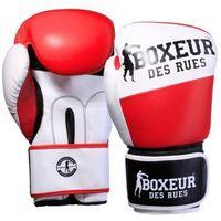 Rękawice do walki, Rękawice bokserskie BOXEUR BXT-591 Czerwono-biały (12 oz)