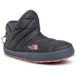 Kapcie THE NORTH FACE - Thermoball Traction Bootie NF0A331HVE81 Vanadis Grey/Pink Clay