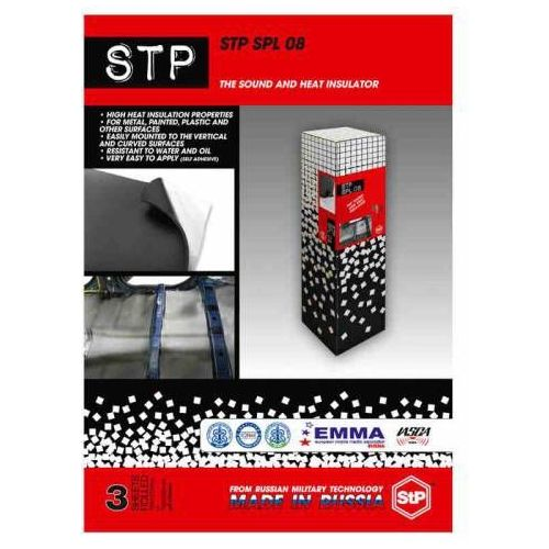 Maty wygłuszające do samochodu, STP SPL 08 wyciszenie drzwi podłogi dachu