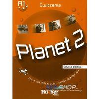 Książki do nauki języka, Planet 2. Ćwiczenia. Język niemiecki dla 2 klasy gimnazjum (opr. broszurowa)