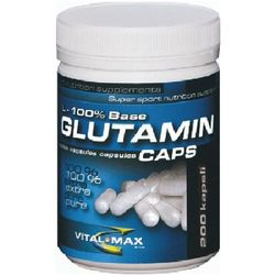 VitalMax L-glutamin Mega Caps - 300 kaps