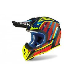 AIROH KASK OFF-ROAD AVIATOR 2.3 AMS2 GLOW CHROME O