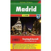 Mapy i atlasy turystyczne, Madrid / city plan 1:10 000 freytag & berndt (opr. miękka)