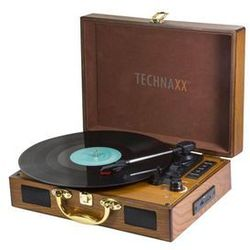TECHNAXX TX-101 - turntable with digital recorder Gramofon - Brązowy