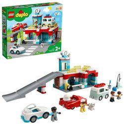 LEGO DUPLO Town 10948 Parking piętrowy i myjnia samochodowa