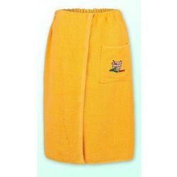 Sauna kilt ręcznik zółty 100% bawełna uniwersalny 70*140 z logo