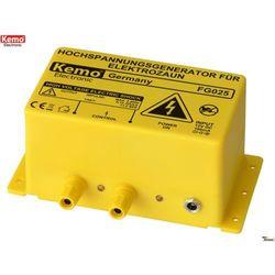 Ogrodzenie elektryczne - urządzenie wysokiego napięcia dla ogrodzenia Kemo FG025