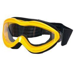Okulary motocyklowe WORKER VG6920 Junior, Żółty