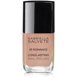 Gabriella Salvete Longlasting Enamel lakier do paznokci 11 ml dla kobiet 43 Romance