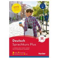 Książki do nauki języka, Sprachkurs Plus Deutsch B1 w.angielska HUEBER - Praca zbiorowa (opr. broszurowa)