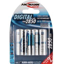 Bateria ANSMANN 1x4 NiMH Mignon AA HR6 2850 mAh Digital