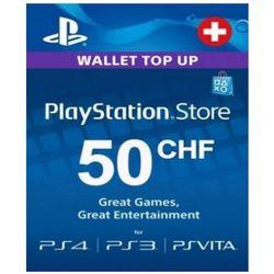 Playstation Network Card (PSN) 50 CHF (Switzerland)