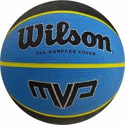 Piłka koszykowa Wilson MVP 7 niebiesko czarna WTB9019XB07