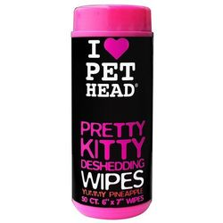 PET HEAD Pretty Kitty Wipes chusteczki nawilżane dla kota - 50 szt.| -5% Rabat dla nowych klientów| DARMOWA Dostawa od 99 zł