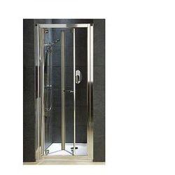 KOŁO GEO 6 Drzwi prysznicowe 90cm, profile srebrny połysk, szkło transparentne GDRB90222003