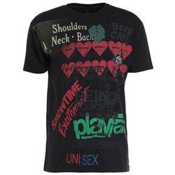 Vivienne Westwood Anglomania BOXY MEANINGLESS PRINT Tshirt z nadrukiem black
