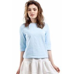 Moe MOE217 bluzka błękitna