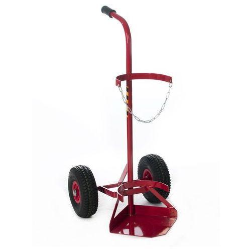 Akcesoria spawalnicze, Wózek spawalniczy 1 butla 260 kółka pneumatyczne promocja!