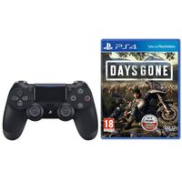 Gamepady, Sony DualShock 4 v2 (czarny) + Days Gone
