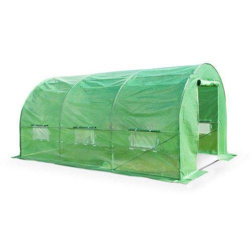 Szklarnie, Zielony tunel foliowy 2x4m metalowy stelaż - Transport GRATIS!
