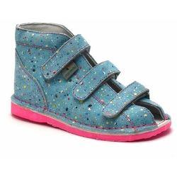 Buty profilaktyczne dla dzieci Danielki T125L/135L Kropki