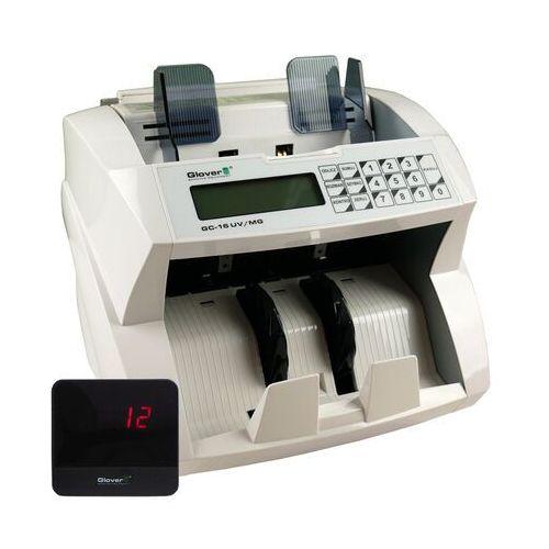 Liczarki do banknotów, Liczarka do banknotów Glover GC-16 UV MG + wyś. - zadzwoń po RABAT - Autoryzowana dystrybucja