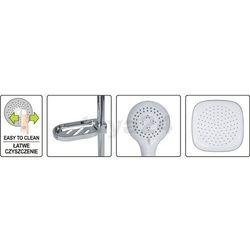 Zestaw prysznicowy z deszczownica GOCTA Fala 75660 - ZYSKAJ RABAT 30 ZŁ