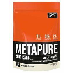 Odżywka białkowa QNT METAPURE ZERO CARB 480g - biała czekolada