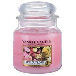 Yankee Candle Fresh Cut Roses aromatyczna świeca zapachowa słoik średni