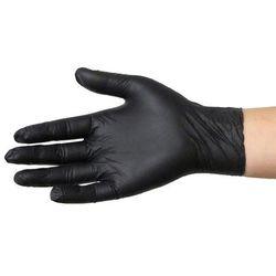 Rękawice nitrylowe NIE PUDROWANE Rozmiar L Czarne 100 szt