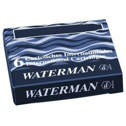 Naboje Waterman Krótkie Czarny (6szt.)