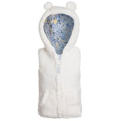 mothercare CUDDLE GILET WITH EARS BABY Kamizelka white