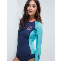 Stroje kąpielowe, Billabong Salty Dayz long sleeve wetsuit in blue - Navy