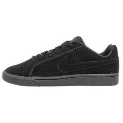 Nike Sportswear COURT ROYALE Tenisówki i Trampki black Promocja 20zł (-10%)