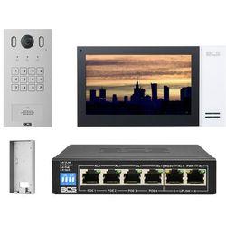 "Wideodomofonu IP BCS-PAN1601S-S + Monitor 7"" BCS-MON7400W-S Natynkowy"