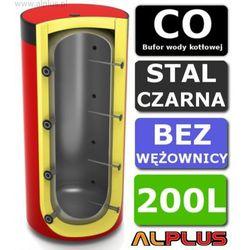 Bufor LEMET 200L Bez Wężownicy do CO - Zbiornik Buforowy Zasobnik Akumulacyjny 200 litrów- Wysyłka Gratis