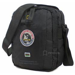 National Geographic EXPLORER torba na ramię / saszetka / N01103.06 - czarny