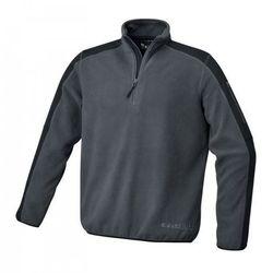 Bluza polarowa Beta 7632G - kolor: grafitowo-czarny, rozmiar XXXL