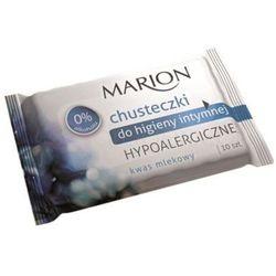 MARION 10szt Chusteczki do higieny intymnej hypoalergiczne