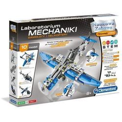 Laboratorium mechaniki - samoloty i helikoptery