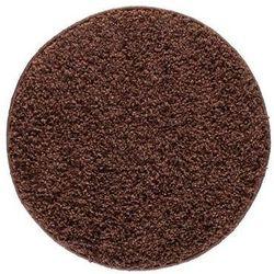 Dywan LUMINI brązowy 100 x 100 cm wys. runa 40 mm INSPIRE