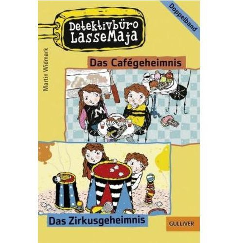 Pozostałe książki, Detektivbüro LasseMaja - Das Cafégeheimnis, Das Zirkusgeheimnis Widmark, Martin
