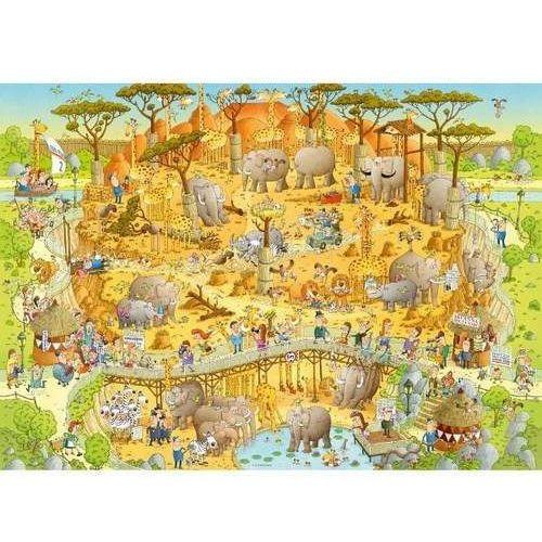 Puzzle, Puzzle 1000 EL. African Habitat