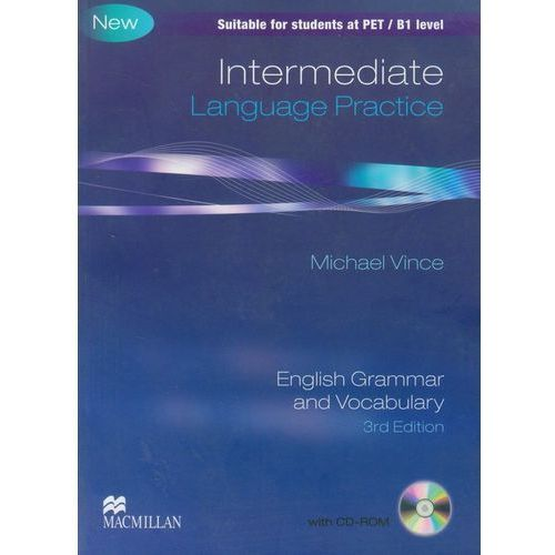 Książki do nauki języka, Intermediate language practice without key + CD-ROM (opr. miękka)