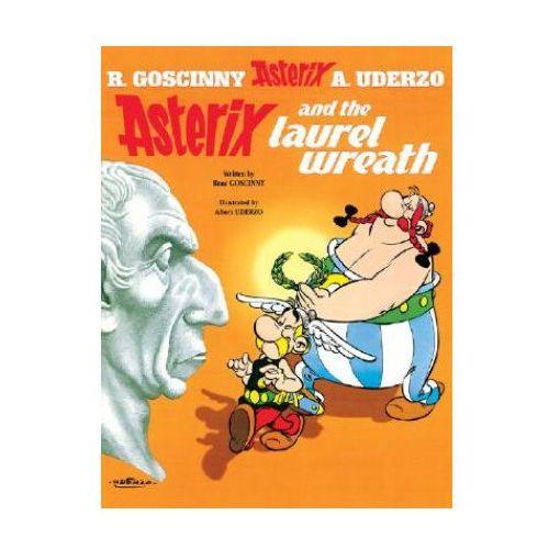 Książki do nauki języka, Asterix & the Laurel Wreath (b.#18) (opr. miękka)