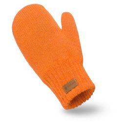 Rękawiczki damskie PaMaMi - Pomarańczowy - Pomarańczowy