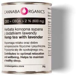 Herbata z kwiatostanów konopi z lawendą (30 gram)