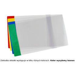 Okładka B5R reg 25,3cm x 35,6-37,2cm krystaliczna - B5R (25cm x regulowana szer.)