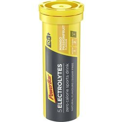 PowerBar 5 Electrolytes Żywność dla sportowców mango - marakuja 10 tabletek 2019 Drinki izotoniczne