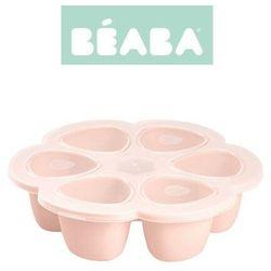 Silikonowy pojemnik do mrożenia 6 x 90 ml pink Beaba